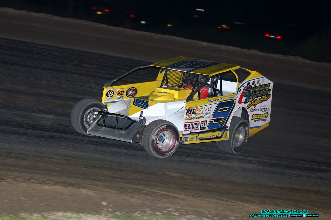 McCreadie Finds Victory Lane at Can-Am Speedway | Dirt Track Digest 2017