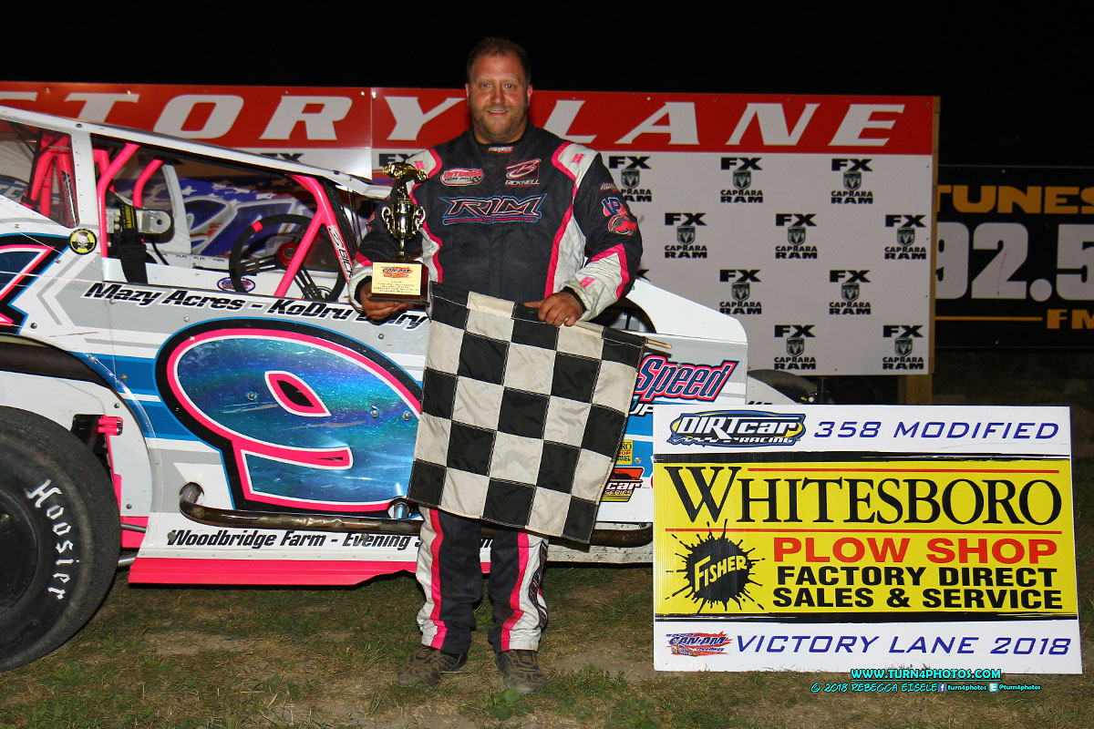 Billy Dunn Back in Victory Lane At Can-Am   Dirt Track Digest 2017