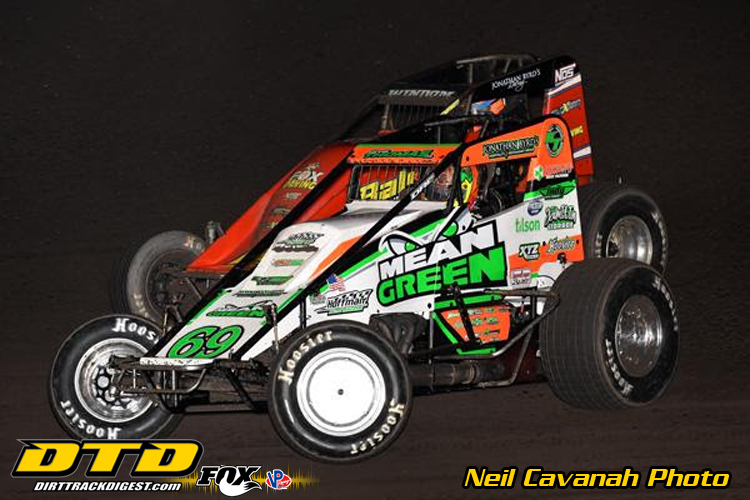 James cook usac midget team owner ryan newman