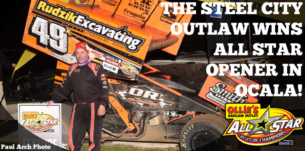 Bubba Raceway Park >> Tim Shaffer Opens 2019 All Star Season With Exciting Victory At