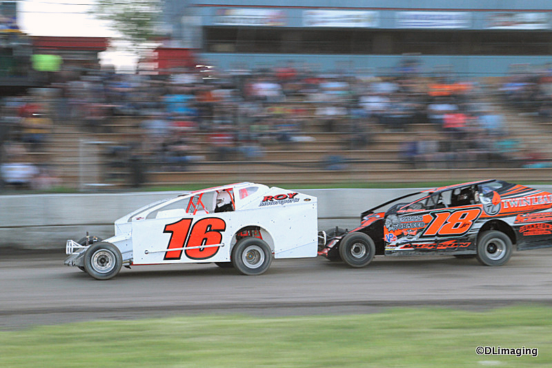 DIRTcar Pro-Stock Series, Mod-Lites and 6 features this